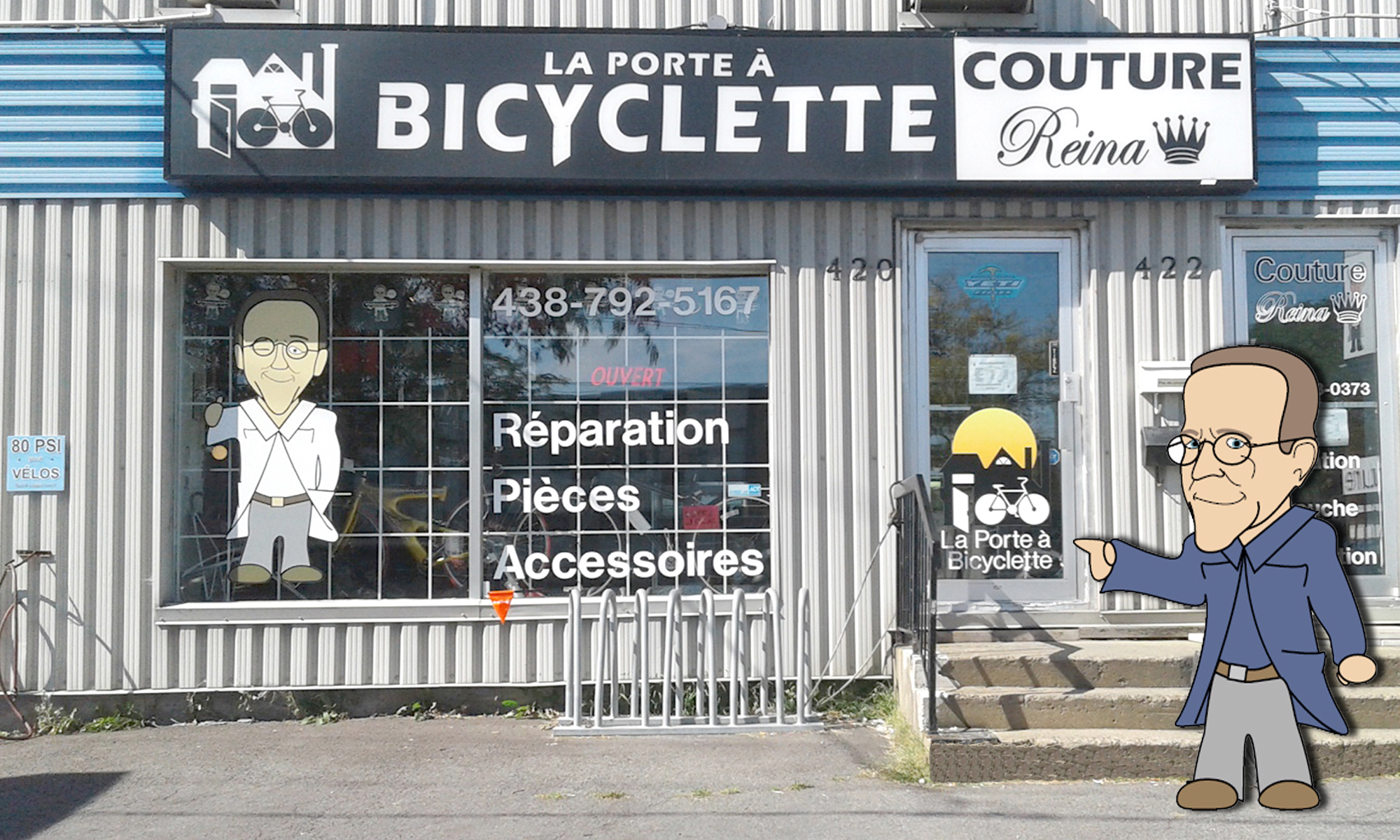 La Porte a bicyclette